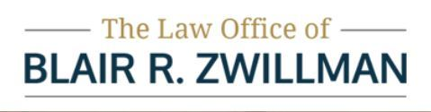 The Law Office of Blair R. Zwillman: Home