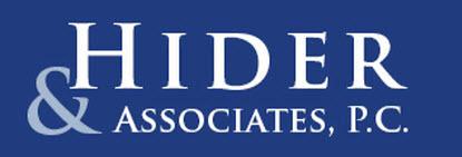 Hider & Associates, P.C.: Home