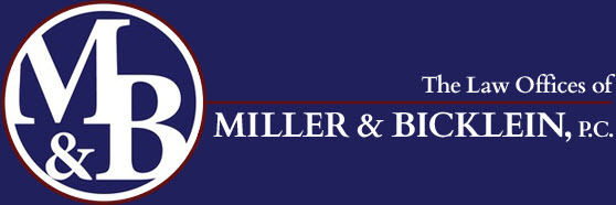 The Law Offices of Miller & Bicklein, P.C.: Home