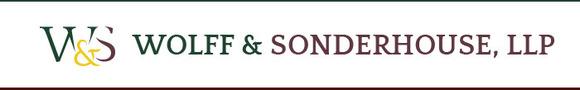 Wolff & Sonderhouse, LLP: Home