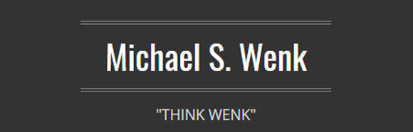 Michael S. Wenk: Home