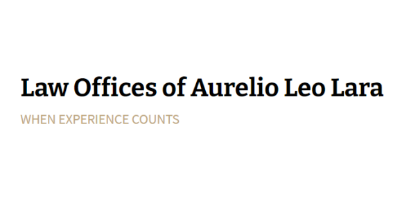 Law Offices of Aurelio Leo Lara: Home