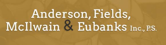Anderson, Fields, McIlwain & Eubanks, Inc., P.S.: Home