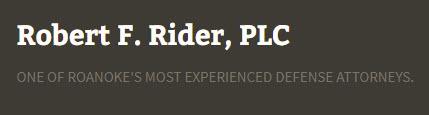 Robert F. Rider, PLC: Home