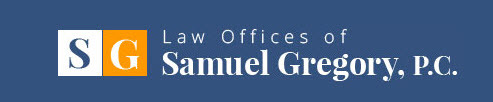 Law Offices of Samuel Gregory: Home