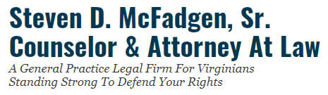 Steven D. McFadgen, Sr. Counselor & Attorney At Law: Home