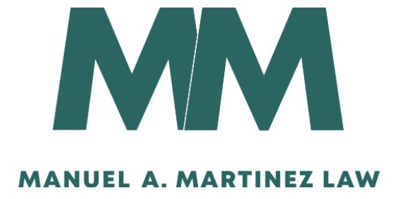 Manuel A Martinez Law: Home