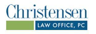 Christensen Law Office, PC: Home
