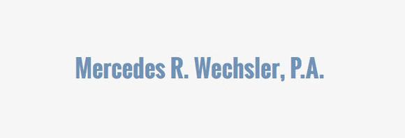 Mercedes R. Wechsler, P.A.: Home