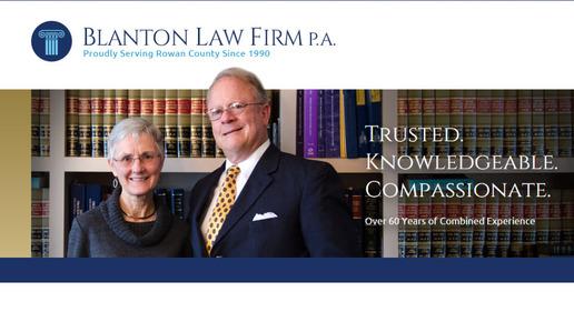 Blanton Law Firm, P.A.: Home