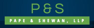 Pape & Shewan, LLP: Home