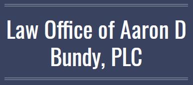Law Office of Aaron D Bundy: Home