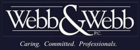 Webb & Webb, P.C.: Home