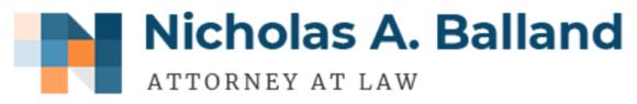 Nicholas A. Balland, Attorney at Law: Home