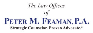 Law Office of Peter M. Feaman, P.A.: Home