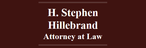 H. Stephen Hillebrand, Attorney at Law: Home