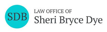 Law Office of Sheri Bryce Dye: Home